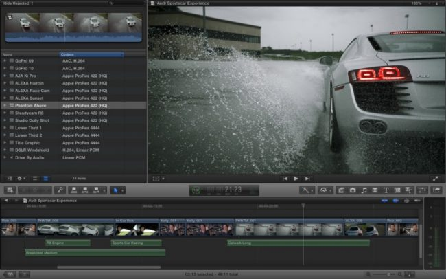 Final Cut Pro X version 10.0.8 Update