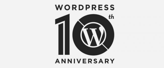 WordPress Turns 10 - Happy Birthday from Raleigh NC Web Design Firm