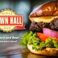 Town Hall Burger and Beer Marketing and Photography