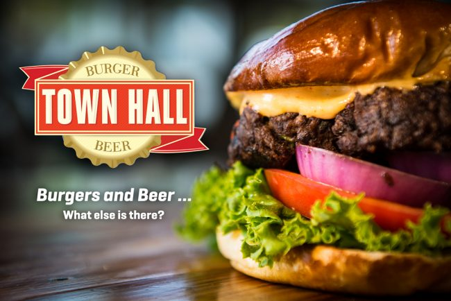 Town Hall Burger and Beer Product Photography Durham NC