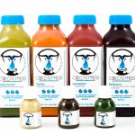 Product Photography of Juices from Cold Off The Press Raleigh