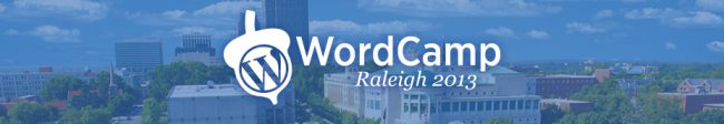 Meet Us at WordCamp Raleigh 2013 - Wordpress Convention Raleigh