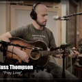 Russ Thompson recording Pray Love at the Rubber Room in Chapel Hill NC